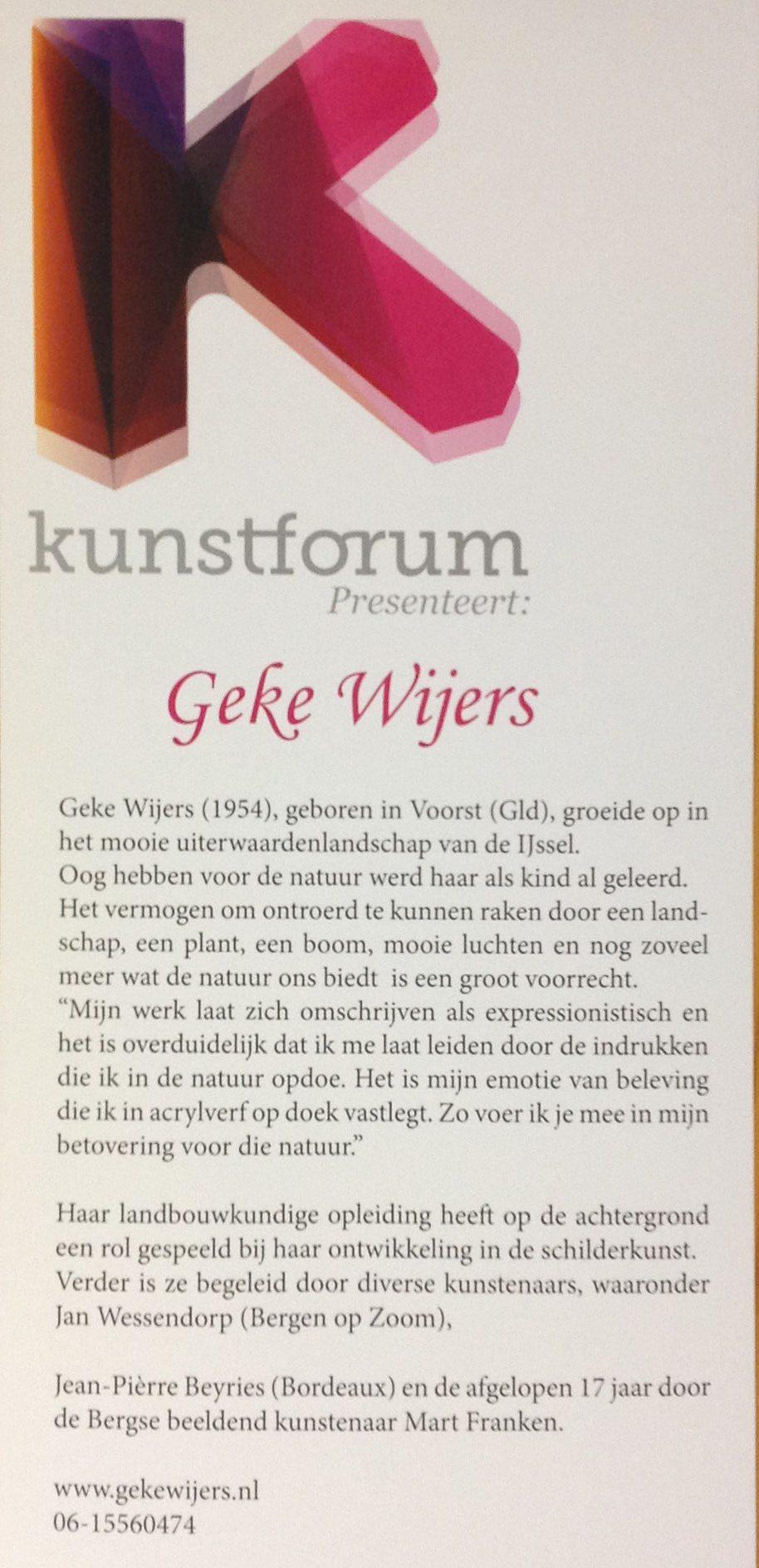 Kunstforum -  Bergen op Zoom